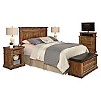 Home Styles Americana Vintage 5-Piece King/California King Headboard and Bedroom Furniture Set