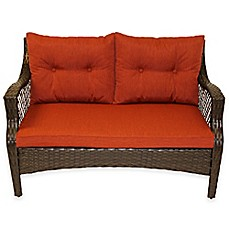 Stratford 3 Piece Outdoor Replacement Loveseat Cushion Set