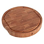 J.K. Adams Cherry End Grain 18-Inch Round Carving Board