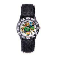 Marvel Children's 33mm Incredible Hulk Wrist Watch in Plastic with Black Nylon Strap