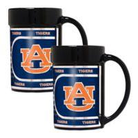 Auburn University Metallic Coffee Mugs (Set of 2)