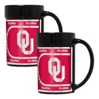 University of Oklahoma Metallic Coffee Mugs (Set of 2)