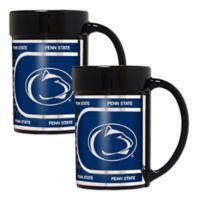Penn State University Metallic Coffee Mugs (Set of 2)