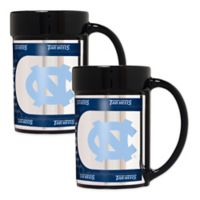 University of North Carolina Metallic Coffee Mugs (Set of 2)