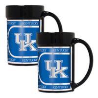 University of Kentucky Metallic Coffee Mugs (Set of 2)