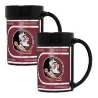Florida State University Metallic Coffee Mugs (Set of 2)