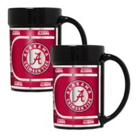 University of Alabama Metallic Coffee Mugs (Set of 2)