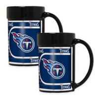 NFL Tennessee Titans Metallic Coffee Mugs (Set of 2)