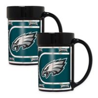 NFL Philadelphia Eagles Metallic Coffee Mugs (Set of 2)