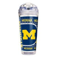 University of Michigan Double-Wall Acrylic 24 oz. Travel Tumbler