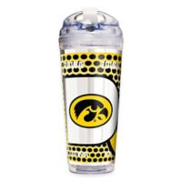 University of Iowa Double-Wall Acrylic 24 oz. Travel Tumbler