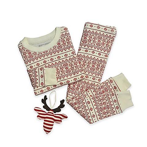 Burt's Bees Baby® 3-Piece Organic Cotton Fair Isle Pajama and ...