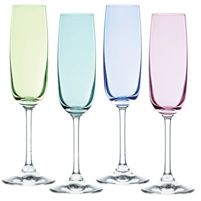 marquis by waterford vintage ombre champagne flutes set of 4 - Waterford Champagne Flutes