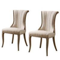 Shiraz Flared Back Chairs in Natural (Set of 2)