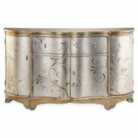 Stein World Celeste Credenza in Silver/Gold