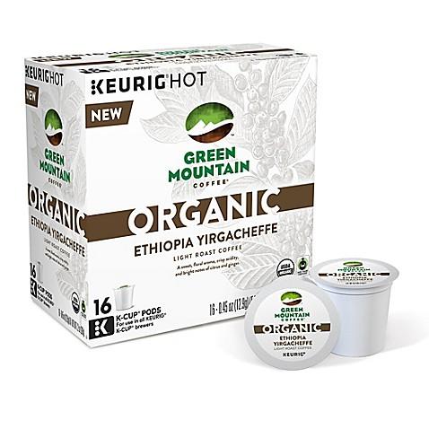 Keurig 174 K Cup 174 Pack 16 Count Green Mountain Coffee Organic
