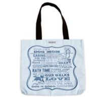 """Dog is Good® 16-Inch """"It's Good to be a Dog Mom"""" Tote in Light Blue"""