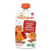 Happy Baby™ 3.5 oz. Stage 2 Organic Baby Food with Pumpkin, Apple, Peach & Cinnamon