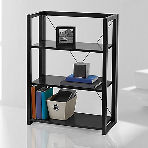 Wooden Folding And Stacking Bookcase