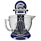 KitchenAid® 5 qt. Stand Mixer in Cobalt Blue with Glass Bowl