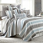 Provincetown Reversible Full/Queen Quilt in Grey