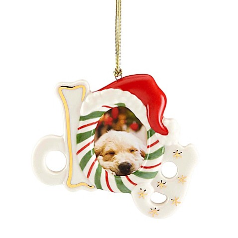 Lenox 174 Dog Frame Ornament Bed Bath Amp Beyond