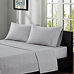 INK+IVY Cora 200-Thread Count Printed Queen Sheet Set in Taupe