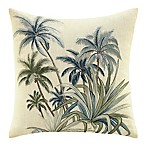 Tommy Bahama® Serenity Palms Square Throw Pillow