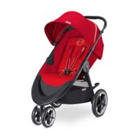 CYBEX Gold Eternis M3 Stroller in Hot & Spicy