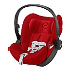 CYBEX Platinum Cloud Q Infant Car Seat with Load Leg Base in Hot & Spicy