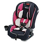 Graco® Milestone™ All-in-1 Booster Car Seat in Pink/Navy Ayla™
