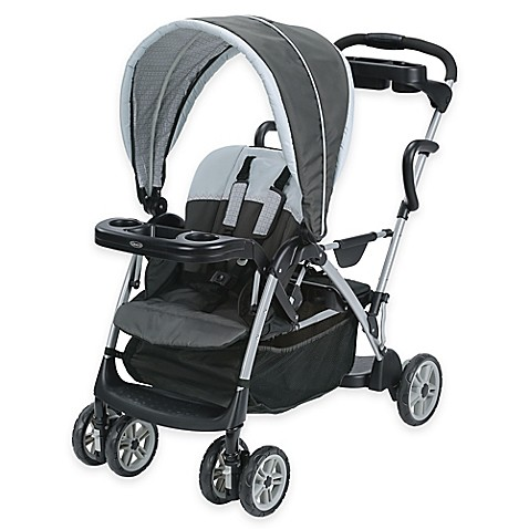 Graco RoomFor2™ Classic Connect™ & Click Connect™ Stroller in Glacier™
