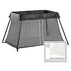 BABYBJORN® Travel Crib Light Bundle in Black