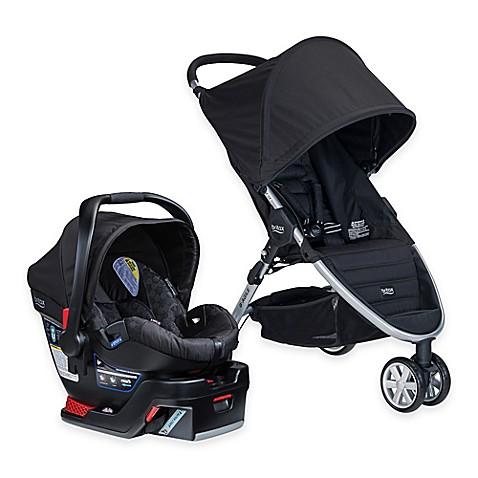 britax b agile 3 b safe 35 travel system in black buybuy baby. Black Bedroom Furniture Sets. Home Design Ideas