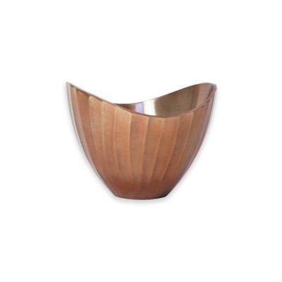 metallic 10inch bowl in copper
