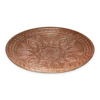 Simplydesignz Raj 16-Inch Platter in Copper
