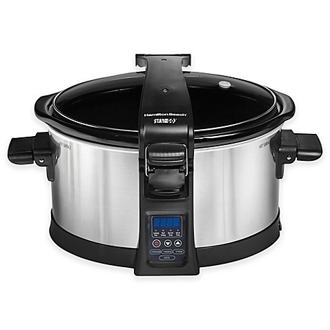 Hamilton Beach Set And Forget Slow Cooker Bed Bath Beyond