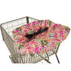 Itzy Ritzy® Ritzy Sitzy™ Shopping Cart and High Chair Cover in Perky Perennials