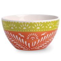 Boston International Viva La Fiesta Serving Bowl in Orange/Yellow