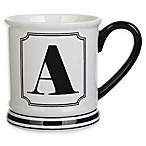 "Formations Block Letter ""A"" Monogram Mug"