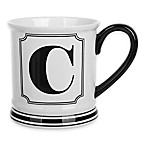 "Formations Block Letter ""C"" Monogram Mug"