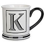 "Formations Block Letter ""K"" Monogram Mug"