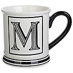 "Formations Block Letter ""M"" Monogram Mug"