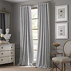 Valeron Estate Cotton Linen 108-Inch Window Curtain Panel in Grey