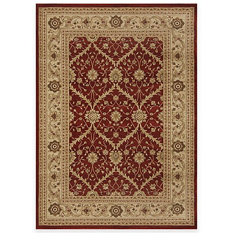 Antique Heat Set Rug In Red Brown Bed Bath Amp Beyond