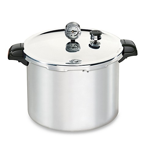 pressure cooker for canning presto aluminum 16 quart pressure canner and cooker bed 29452