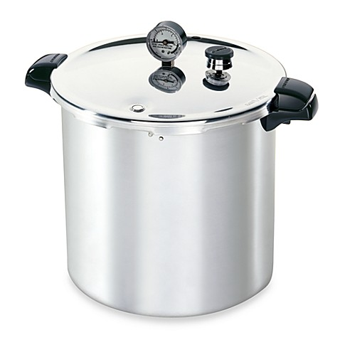 pressure cooker for canning presto aluminum 23 quart pressure canner and cooker bed 29452