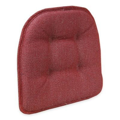 Klear Vu Saturn Gripper® Chair Pad In Brick Red