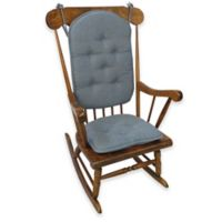 Klear Vu Saturn 2-Piece Rocking Chair Pad Set in Blue