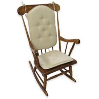 Klear Vu Saturn 2-Piece Rocking Chair Pad Set in Natural